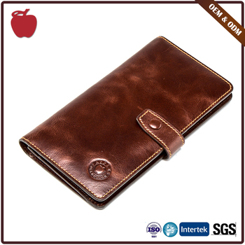 Supplier Fashion Style Cowhide Leather Wallet Manufacturer In China