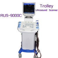 Carejoy Trolley Mobile Type Ultrasound machine/Scanner RUS-9000C With Convex Micro-convex linear rectal transvaginal probe