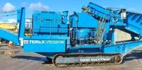 Pre-used mobile track mounted Cone crushing plant