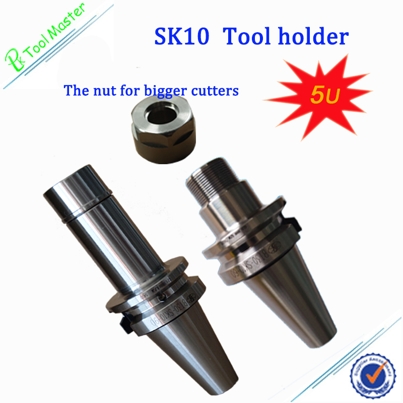 10 PCS Mini SK10 Precision collets from 2.0mm to 10.0mm for chuck holder