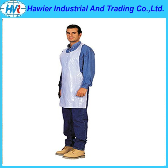 Household plastic disposable waterproof aprons for adult