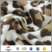 china supplier polar striped fleece fabric gloves heating radiators