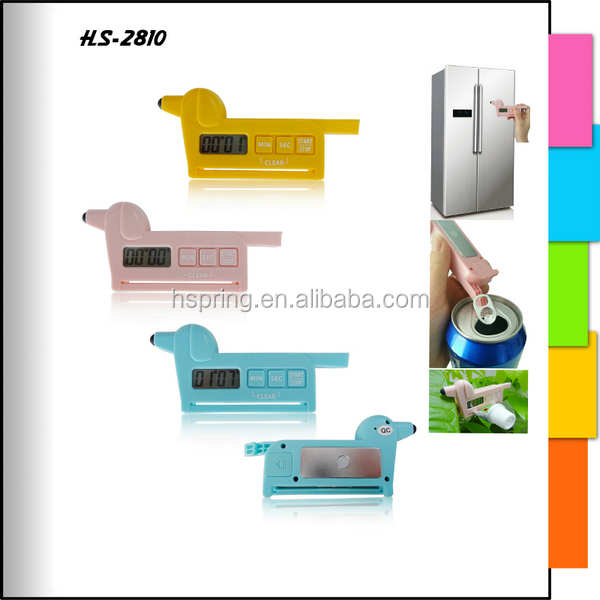 Multifunction cute design make your own logo portable mini timer