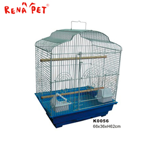 2016 China wholesale parrot steel metal bird cage for sale