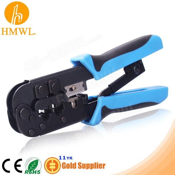 Ratcheting RJ45 hand Manual Crimping Tool