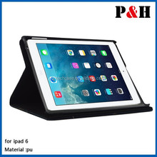 for iPad Air 2 PU Leather Printing Case with Stand