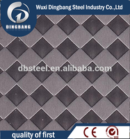 Supplied 304 steel checkered plate standard size