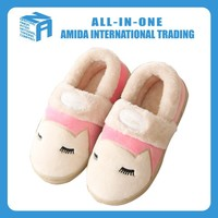 cheap wholesale cute animal motifs fluffy warm winter house shoes