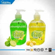 500ml bottle private label wholesale chemical formula brand names organic natural halal toilet hand wash liquid soap factory