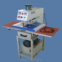 Newly hydraulic double locations T-shirt heat press machine