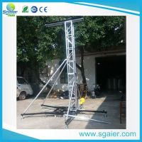 Fashional speaker line array tower truss lighting lump truss