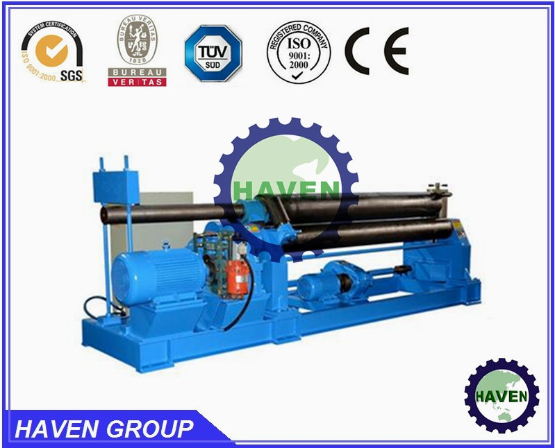 W11-30x2500 Mechanical three roller steel plate Bending and Metal Rolling machine
