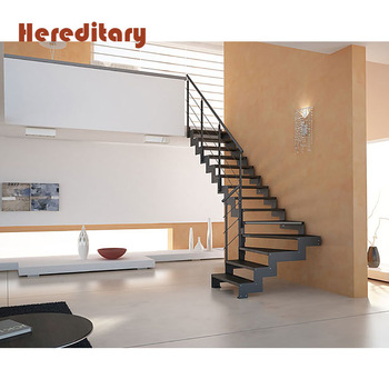 Prefabricated low cost stairs outdoor metal steel ms staircase design