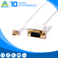 3ft Mini DisplayPort to VGA female cable / Adapter for Apple MacBook