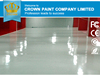 Stone Hard Self Leveling non solvent epoxy paint for super clean room