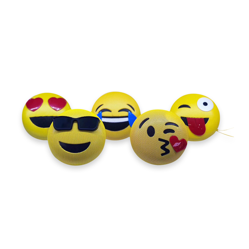 Emoji Wireless BT <strong>Speaker</strong> Rechargeable Battery Hands free Mic Wireless <strong>Speaker</strong> for Smartphone