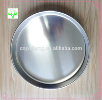 Stainless steel aluminium cake pan disposeable with FDA certification