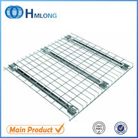 Welded galvanized storage wire mesh used composite decking for rack