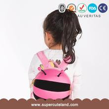 New arrival Cute design EVA bumble bee Mix color kids animal mini backpack
