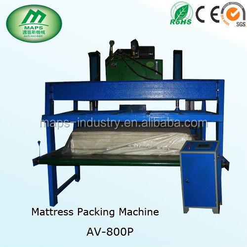 factory price high efficiemcy automatic mattress packing machine,Reducing labor cost and improving production efficiency