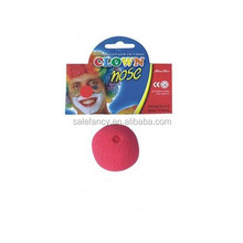 Party Sponge Ball red foam clown nose for Halloween Masquerade Ball QCDD-2039