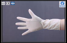 natural latex made in China disposable powder free latex surgical examination glove
