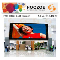 P10 RGB Commercial Advertising TV Outdoor