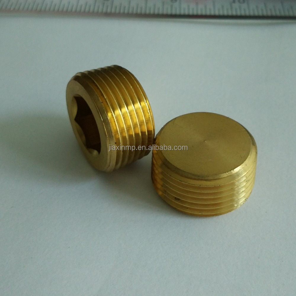 Custom 3/4NPT Brass end cap