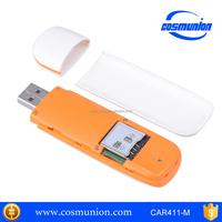 7.2Mbps 3g usb modem wifi with sim card slot