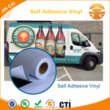 printable pvc self adhesive vinyl roll for car sticker