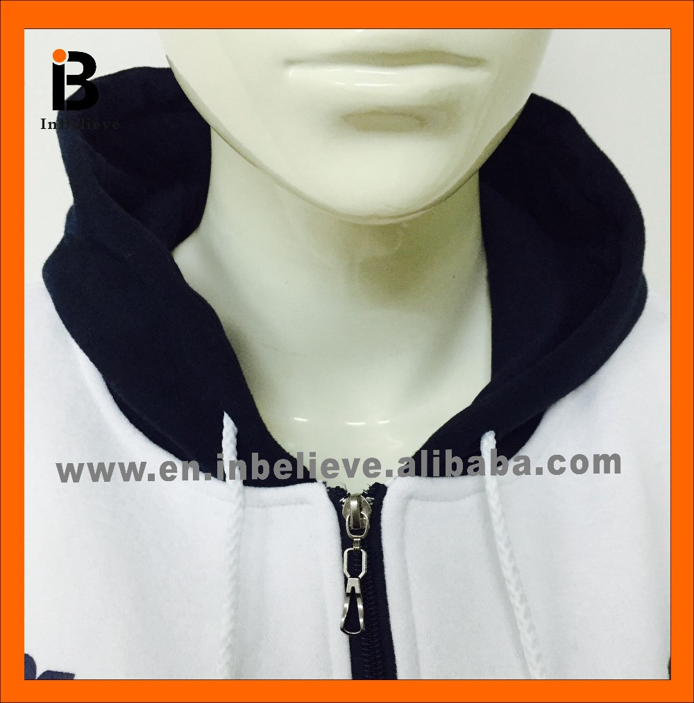 2017 customize wholesale high quality cotton sport hoodies