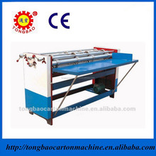 Separately paper slicing and rolling the line machine/ Corrugated slitter scorer machine for carton making