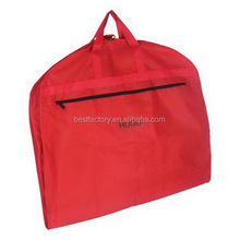 waterproof suit cover, garment nylon suit cover, hanging travel garment bag