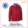 Europe professional durable denim varsity red winter jacket