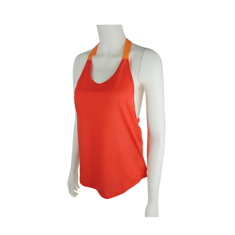 New design wholesale women running vest running gear running tops for trainer