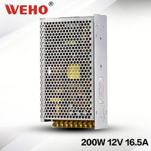 S-200-12 200w led power 12v 16.7a switching power supply