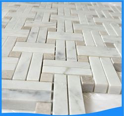 Stone tile floor marble mosaic good quality