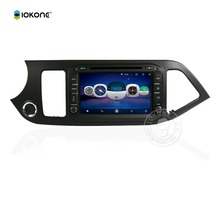 5.1 android double din car stereo for KIA PICANTO 2014 popular touch screen car audio