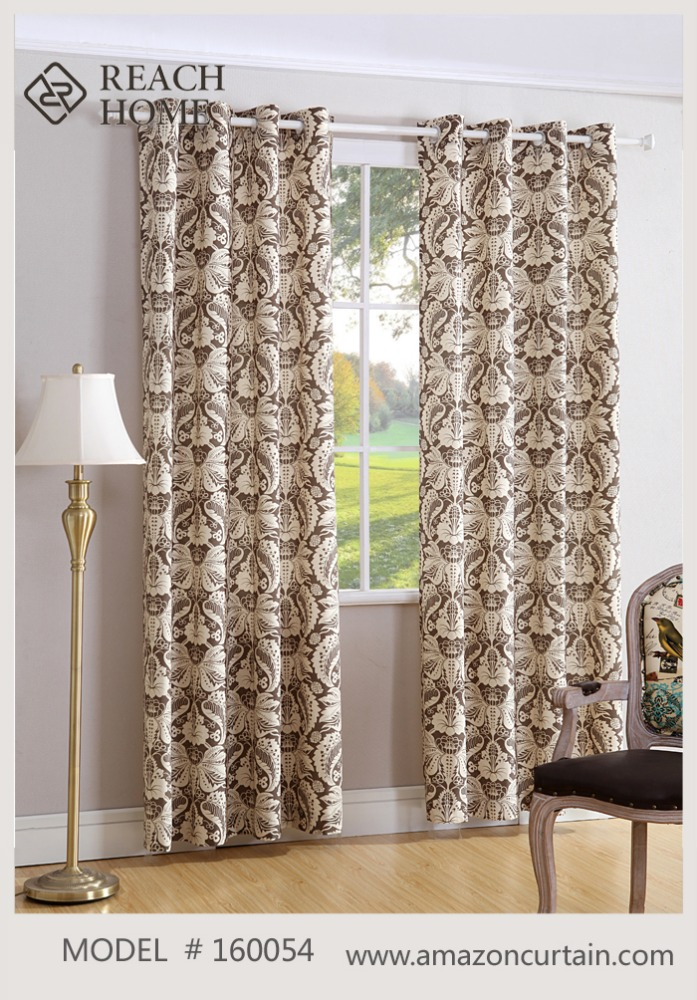 Linen Drapes curtain for Window and doors