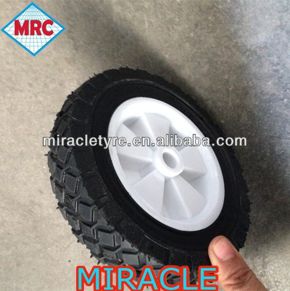 small solid rubber wheel 6x1.5 for garden carts