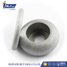 Fine brazing diamond grinding wheel stone and ceramic grinding wheel tool