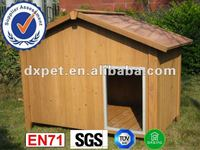 Wooden Puppy House Dog Kennel Outdoor Shelter DXDH003