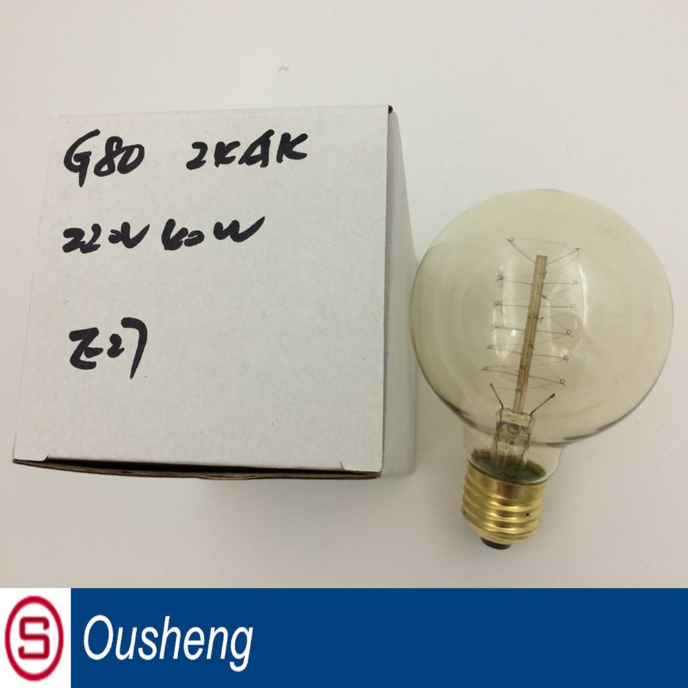 with 10 years manufacturer experience factory supply vintage Edison bulb G125 led bulb e 27