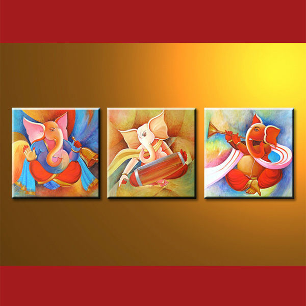 ganesha paintings modern art - photo #5