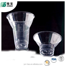 New Arrival novel design mini transparent plastic cup for ice cream