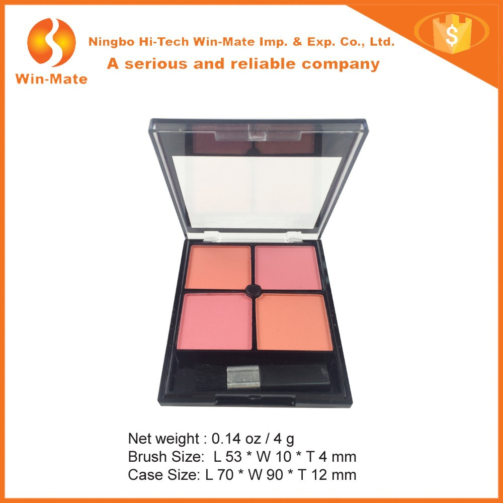 With 1 pc Brush 1 Mirror On Back Cheap Blush Palette