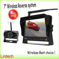 7 inch wireless reverse camera system for truck, trailer, carvan LW-7006W