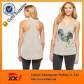 hot cotton fashion brand loose racerback new top for women