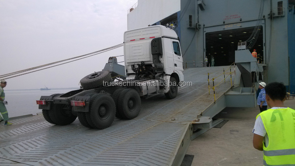 BEIBEN V3 Tractor Truck 6x4 Tractor Head Trailer Head Truck For Sale