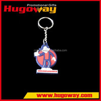 chinese products 3d custom shaped soft pvc keychain